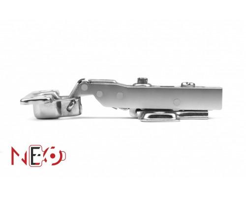 Мебельная петля H404B21/2210 Мини петля clip-on с доводчиком полунакл.