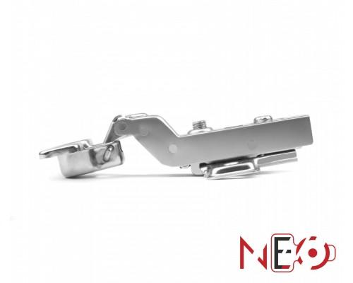 Мебельная петля H404C21/2210 Мини петля clip-on с доводчиком внутр.