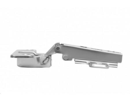 Мебельная петля с пружиной обратного хода PUSH H690A02/0112 накладная