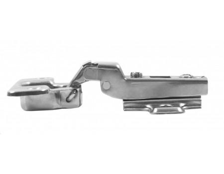 Мебельная петля с пружиной обратного хода PUSH H690B02/0112 полунакладная