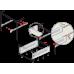 Направляющие механизмы MB MB15001GR/500