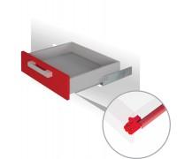 Направляющие механизмы скрытого монтажа DB4462Zn/450 частичного с доводчиком