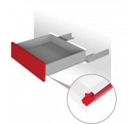 Направляющие механизмы скрытого монтажа DB4465Zn/350 PUSH