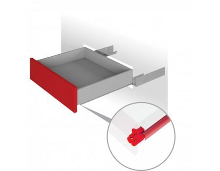 Направляющие механизмы скрытого монтажа DB4465Zn/350