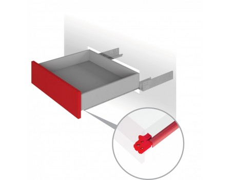 Направляющие механизмы скрытого монтажа DB4465Zn/400