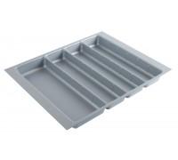 Вкладка под столовые приборы для выдвижного ящика PC01/GR/530x480 пластик