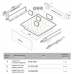 Поддон для выдвижного ящика PC01/GR/530x480