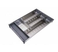 Вкладка под столовые приборы  из нержавеющей стали PC04/GR/280x422
