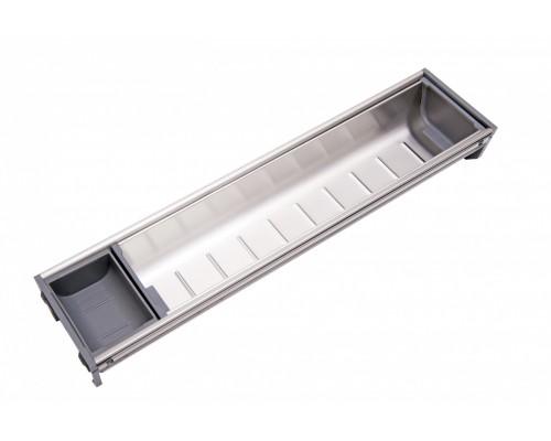Вкладка под столовые приборы из нержавеющей стали PC05/GR/103x422