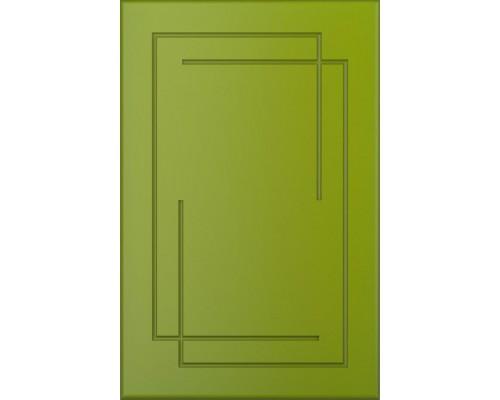 Фасад кухонный из МДФ крашенный матовый с фрезеровкой