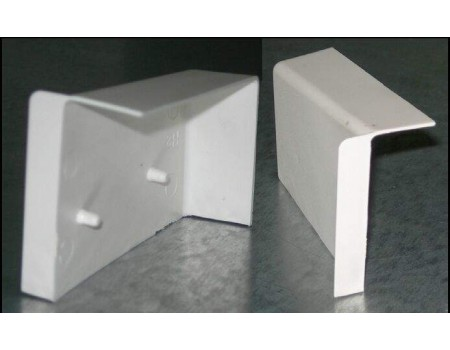 Крышка Белая для навеса (левая)