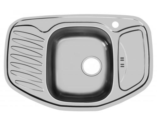 Мойка UKINOX врезная серии Комфорт CO*776.507 модель COL776.507 -GW8K 2C