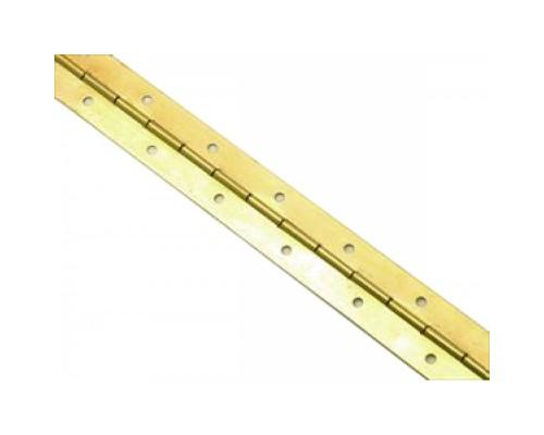 Петля рояльная 1750 мм., латунь