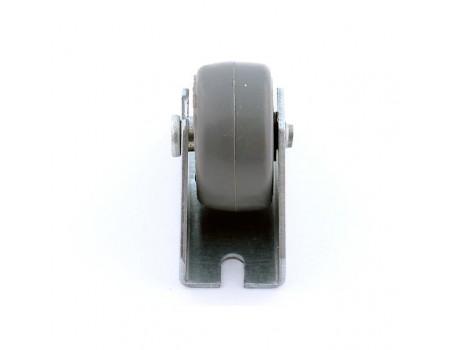 Ролик выкатной d=18mm с обрезин. колесом