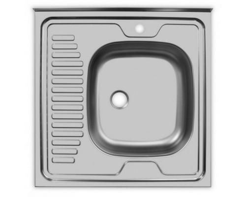 Мойка UKINOX накладная серии Стандарт ST*600.600 модель STD600.600 -4C 0R-