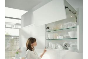Кухонные подъёмники AVENTOS BLUM ( АВЕНТОС БЛЮМ ) на Новолитовской 37